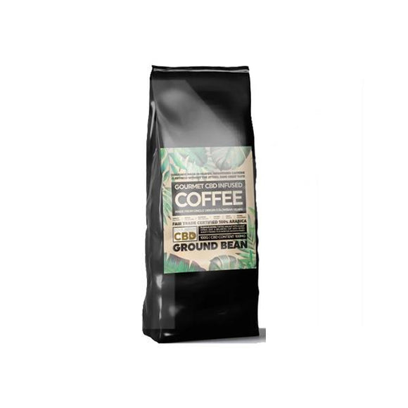 Equilibrium CBD 100mg Gourmet Ground Coffee 100g Bag - CBD VAPE 1