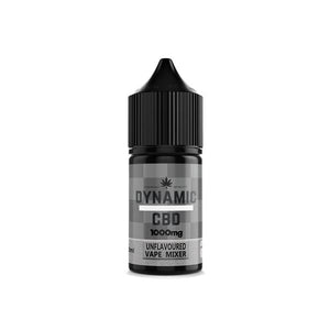 Dynamic CBD Unflavoured Vape Additive 1000mg 10% 10ML - CBD VAPE 1