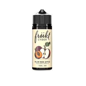Frukt Cyder 0mg 100ml Shortfill E-liquid (70VG/30PG) - CBD VAPE 1