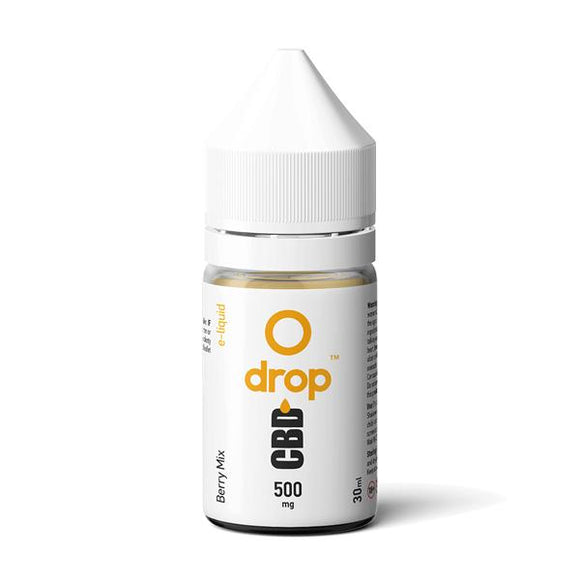 CBD Drop Flavoured E-Liquid 500mg 30ml - CBD VAPE 1