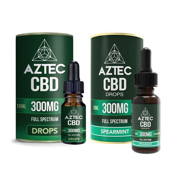 Aztec CBD Full Spectrum Hemp Oil 300mg CBD 10ml