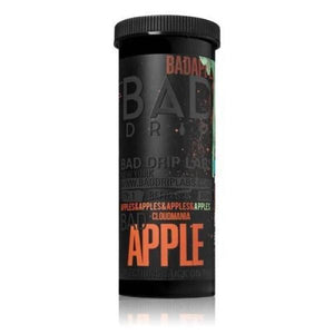 NEW Bad Apple by Bad Drip 0mg 50ml Shortfill (80VG-20PG) - CBD VAPE 1