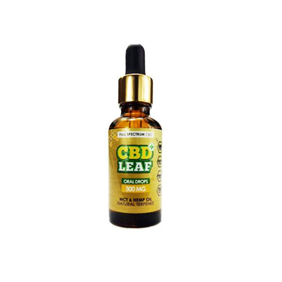 CBD Leaf 300MG Oral Drops 30ml - CBD VAPE 1