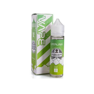 Catalina by Alien Vape 0mg 60ml Shortfill (70VG-30PG) - CBD VAPE 1