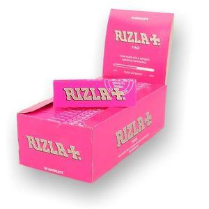 50 Pink Regular Rizla Rolling Papers - CBD VAPE 1