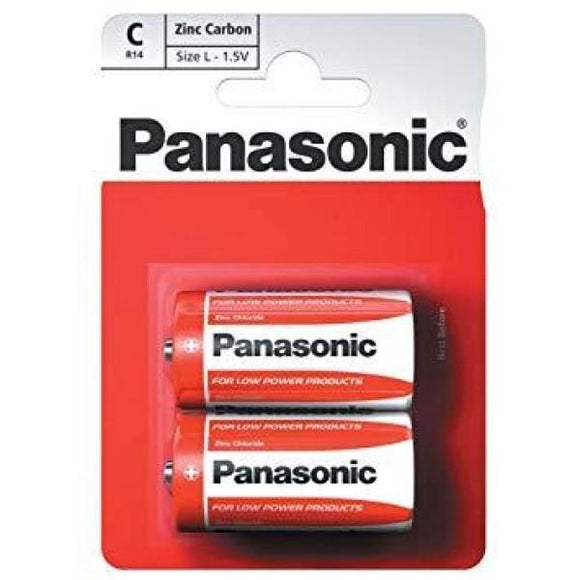 Panasonic R14 C 1.5V Battery - CBD VAPE 1