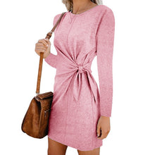 Load image into Gallery viewer, vestido long sleeve dress casual autumn robe courte vestidos  mujer fall kleider damen festa curto dames jurken sukienki clothes
