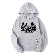Load image into Gallery viewer, Stranger Things Hoodies Men Women Letters Print Autumn Harajuku Hip Hop Sweatshirt Man Fashion Winter Fleece Jumper Drop