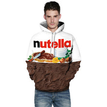 Load image into Gallery viewer, Lyprerazy Women/Men Hoodie Print Nutella Food Hip Hop Casual Style Tops New Fashion Brand Pullovers 3D Sweatshirts Hoodies