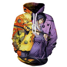 Load image into Gallery viewer, New 3D Printed Naruto Sweatshirts Men Hoodie 2019 Fashion Men Women Hooded Hoodies Funny Anime Harajuku Streetwear Mens Clothes