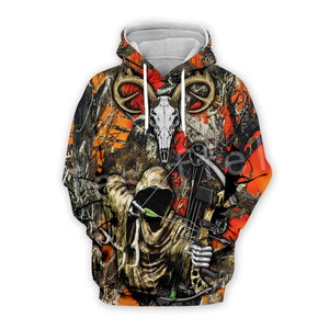 Tessffel Hunter Animal Camo Fashion Tracksuit 3D Print Hoodie/Sweatshirt/Jacket/shirts Mens Womens colorful casual Harajuku s-12