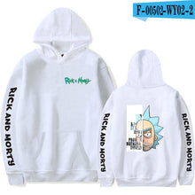 Load image into Gallery viewer, Men/women rick and morty season 4  Hoodie Sweatshirt 2019 ricky and morty hoodie  Spring Autumn Male/ladies Casual Streetwear