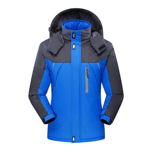 2019 New Brand Winter Jacket Men Women Fashion Warm Outdoor Jackets Fleece Lined Waterproof Ski Snowboard Coat Plus Size M-5XL