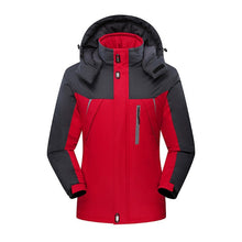 Load image into Gallery viewer, 2019 New Brand Winter Jacket Men Women Fashion Warm Outdoor Jackets Fleece Lined Waterproof Ski Snowboard Coat Plus Size M-5XL
