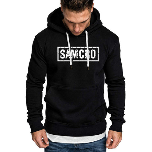 SOA Sons of anarchy the child SAMCRO Men Sportswear Hoodies Male Casual Sweatshirt Winter Fleece Fashion Hip Hop Warm Hoody