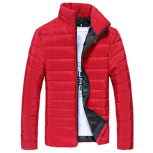 Load image into Gallery viewer, Men's Jacket New Casual Cotton Stand Zipper Warm Winter Thick Coat high quality Jacket Mens Autumn Fashion Overcoat