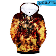 Load image into Gallery viewer, GOD OF WAR Hoody Hoodie Sweatshirt 2019newest Cool And Fashion Style 3D Print boys/girls Long Sleeved Loose Hoodies Clothes