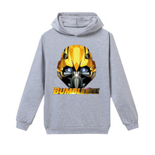 Load image into Gallery viewer, 2020 New Transformers Costume Kids Winter Coat Toddler Baby Kid Boy Girl Hooded Cartoon 3D Ear Hoodie Sweatshirt Tops Clothes