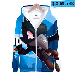 Shooting Game 3D Printed Hoodies Boys Girls Long Sleeve Kids Hoodie Sweatshirt Fashion Harajuku Jacket Coat Brand Clothes