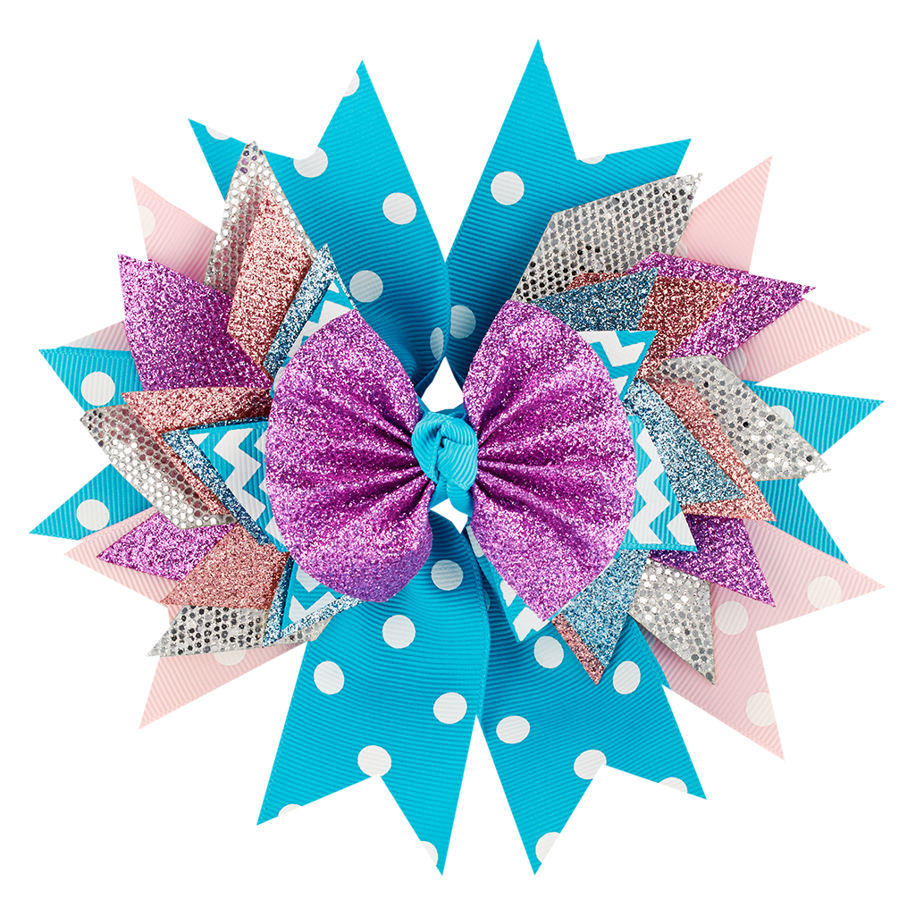 Blue/Purple Bow