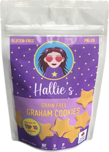 Load image into Gallery viewer, Grain Free Graham Cookies - Paleo - Top 10 Allergen Free - 3oz Bag