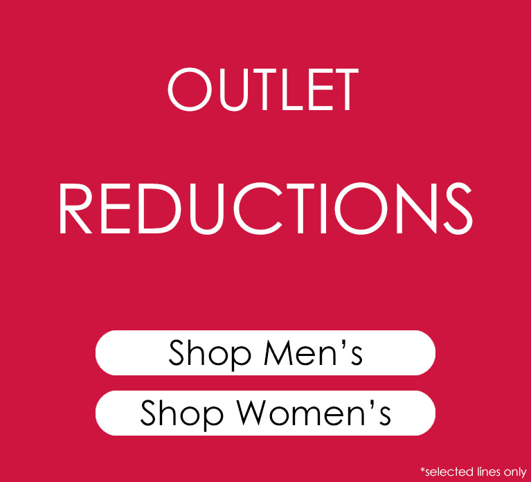 Shop Massive Reductions in the Outlet
