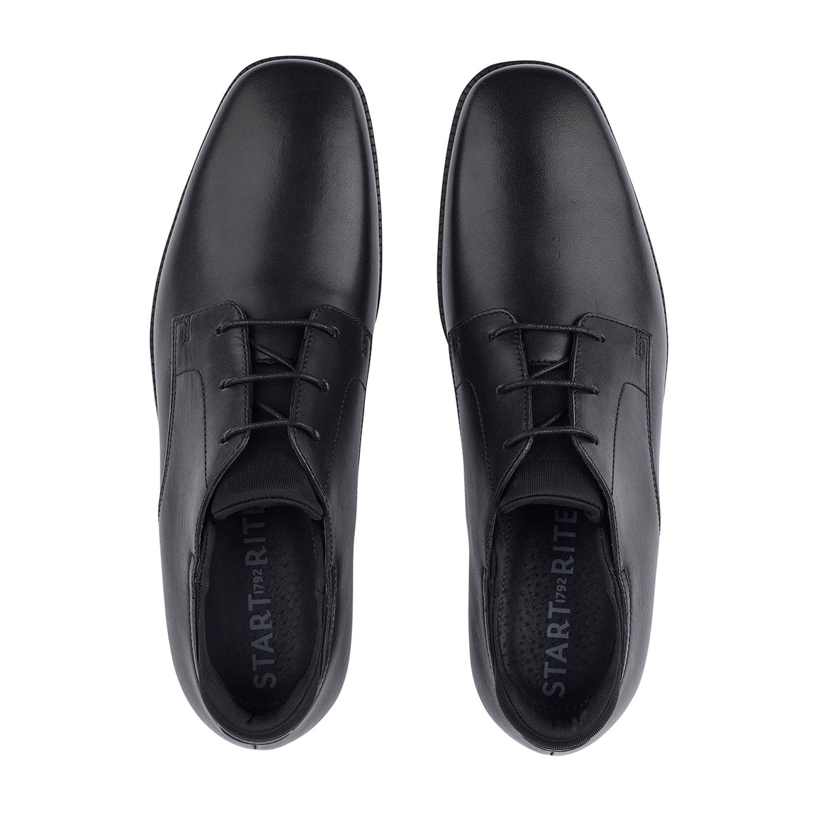Academy School Shoes in Black