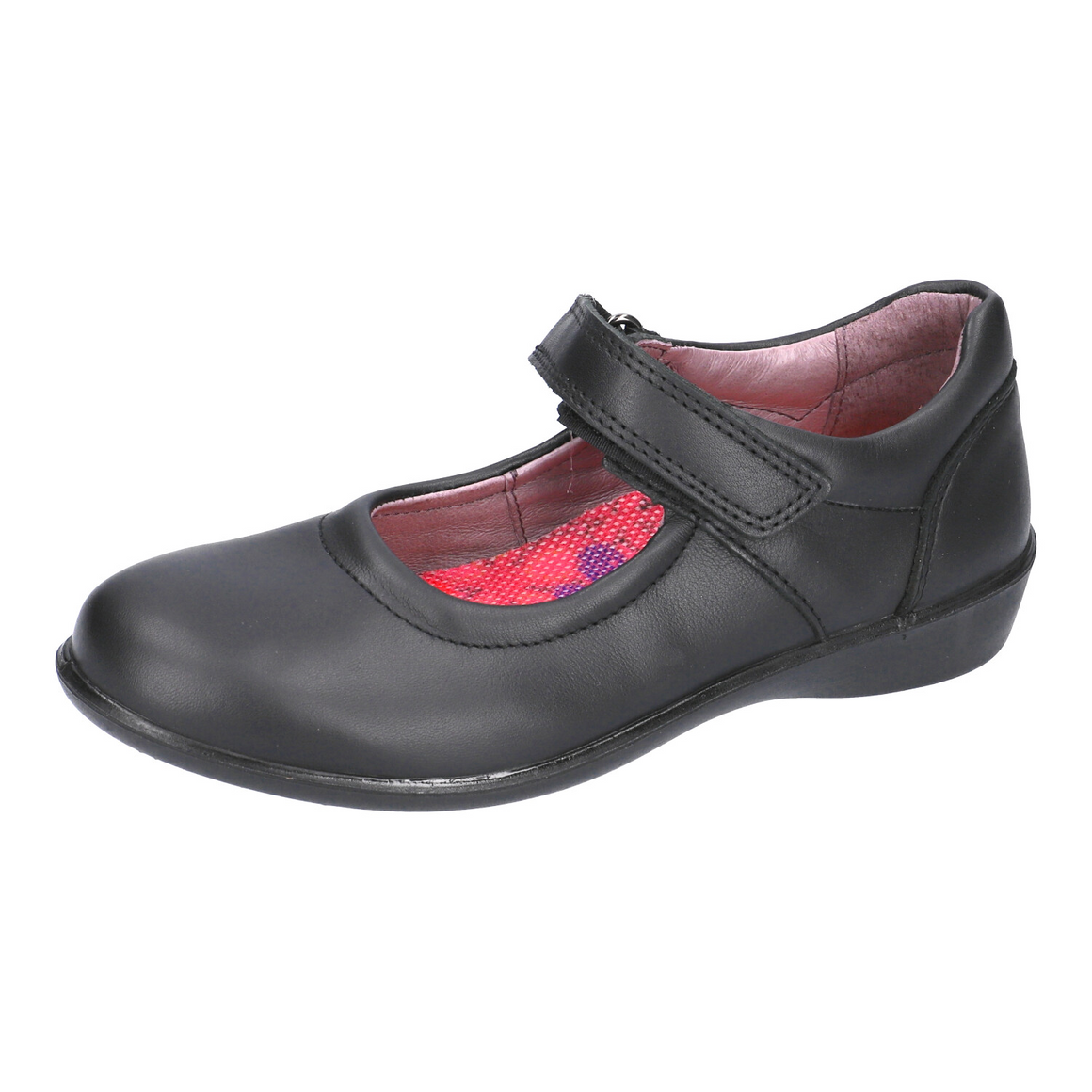Beth School Shoes for Girls in Black