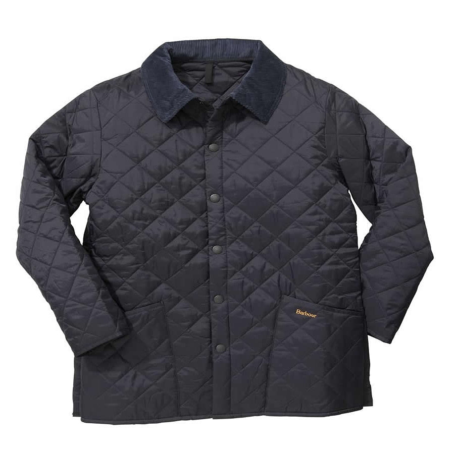 Liddesdale Quilted Jacket for Men in Navy