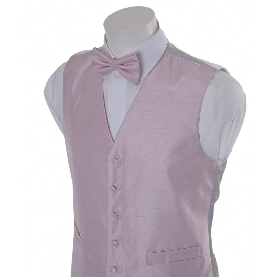 Dress Waistcoat for Men in Pink