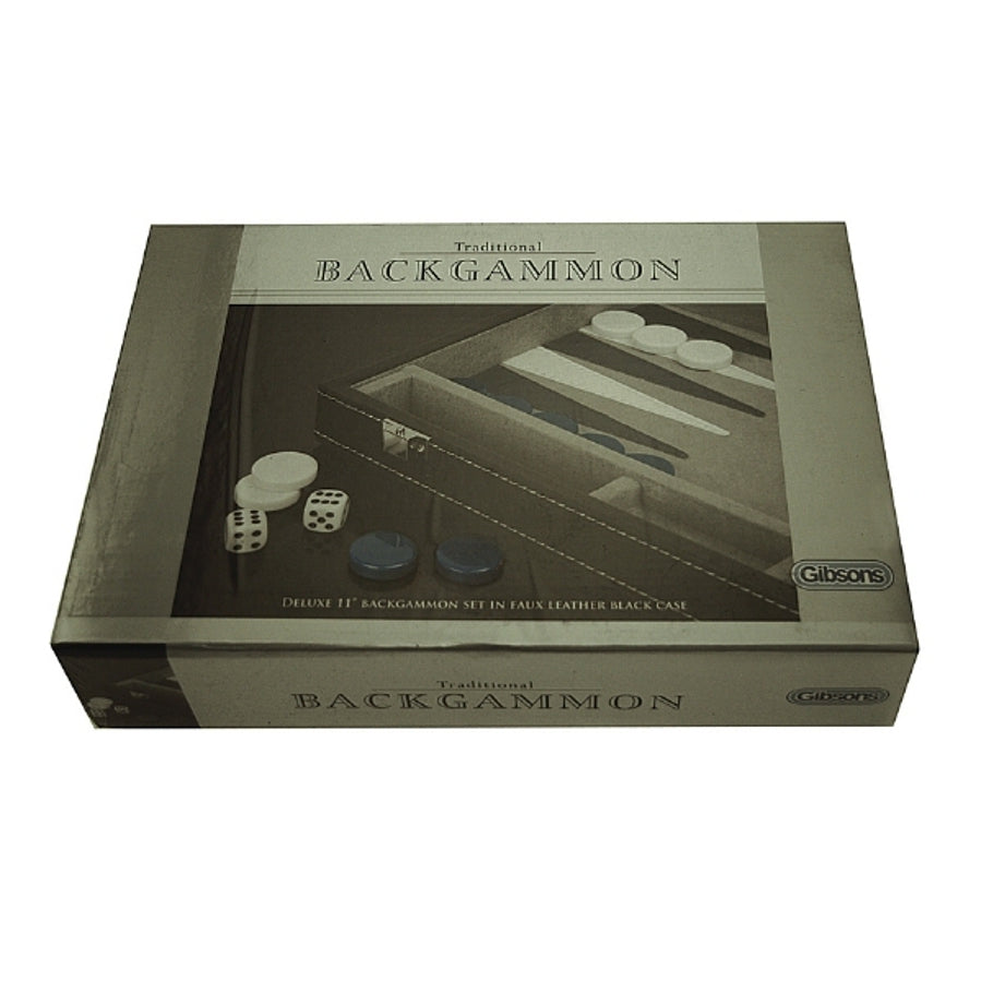 Games Traditional Backgammon 11inch Set