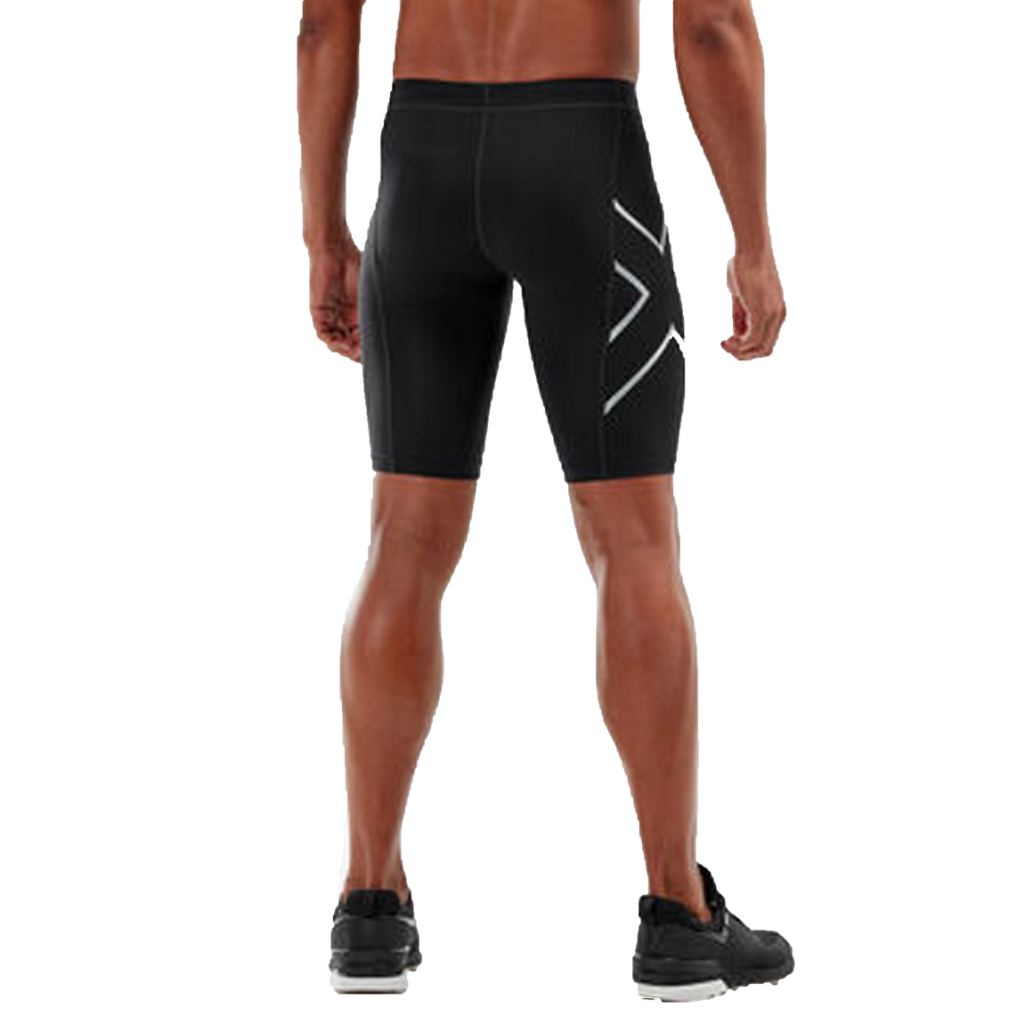 Compression Shorts for Men in Black
