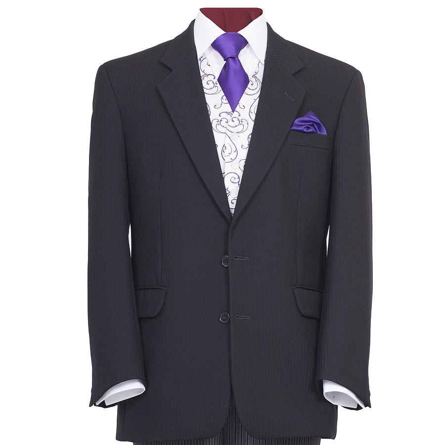 Cheltenham Black Wedding Suit for Men