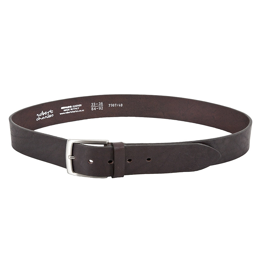 Leather Belt in Brown 40mm