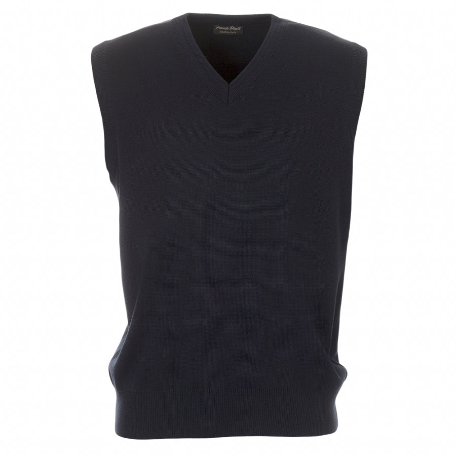 V Neck Slipover in Navy
