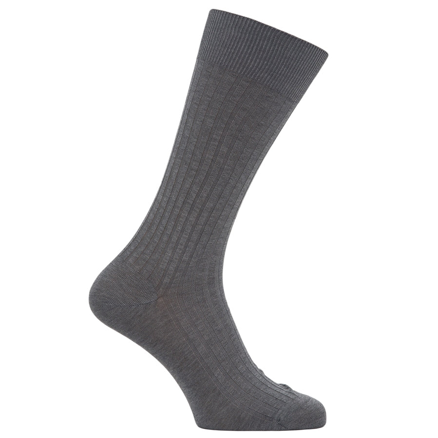 Mens Socks in Grey