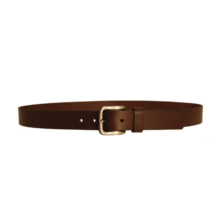 Leather Belt in Mid Brown