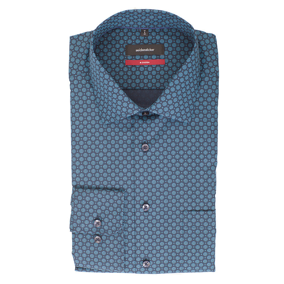 Formal Shirt for Men in Teal