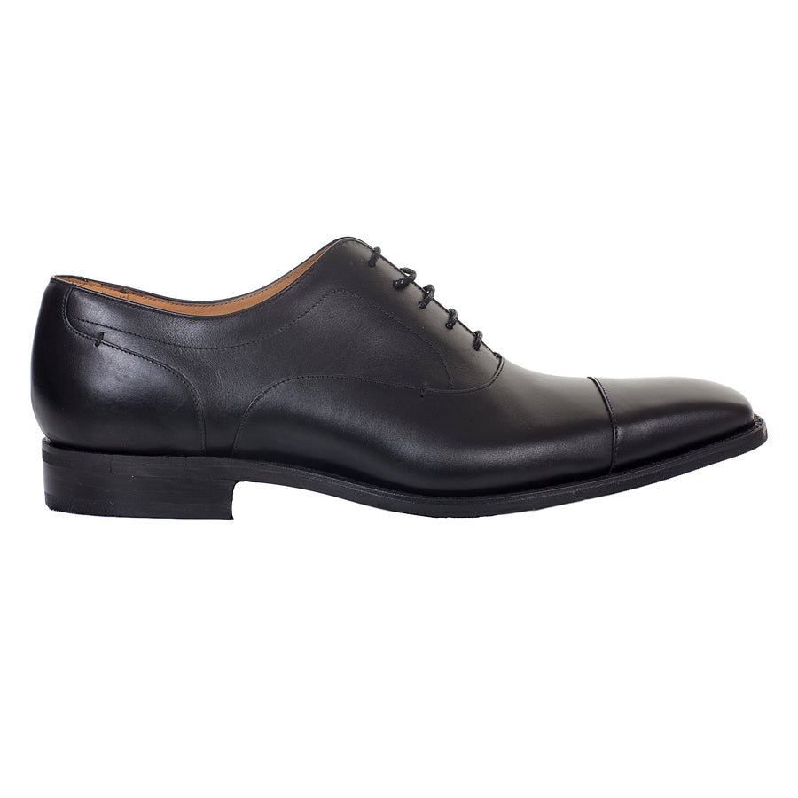 Liam Oxford Shoes for Men in Black