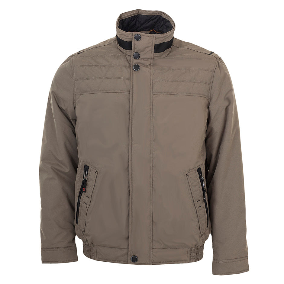 Blouson Coat for Men in Taupe
