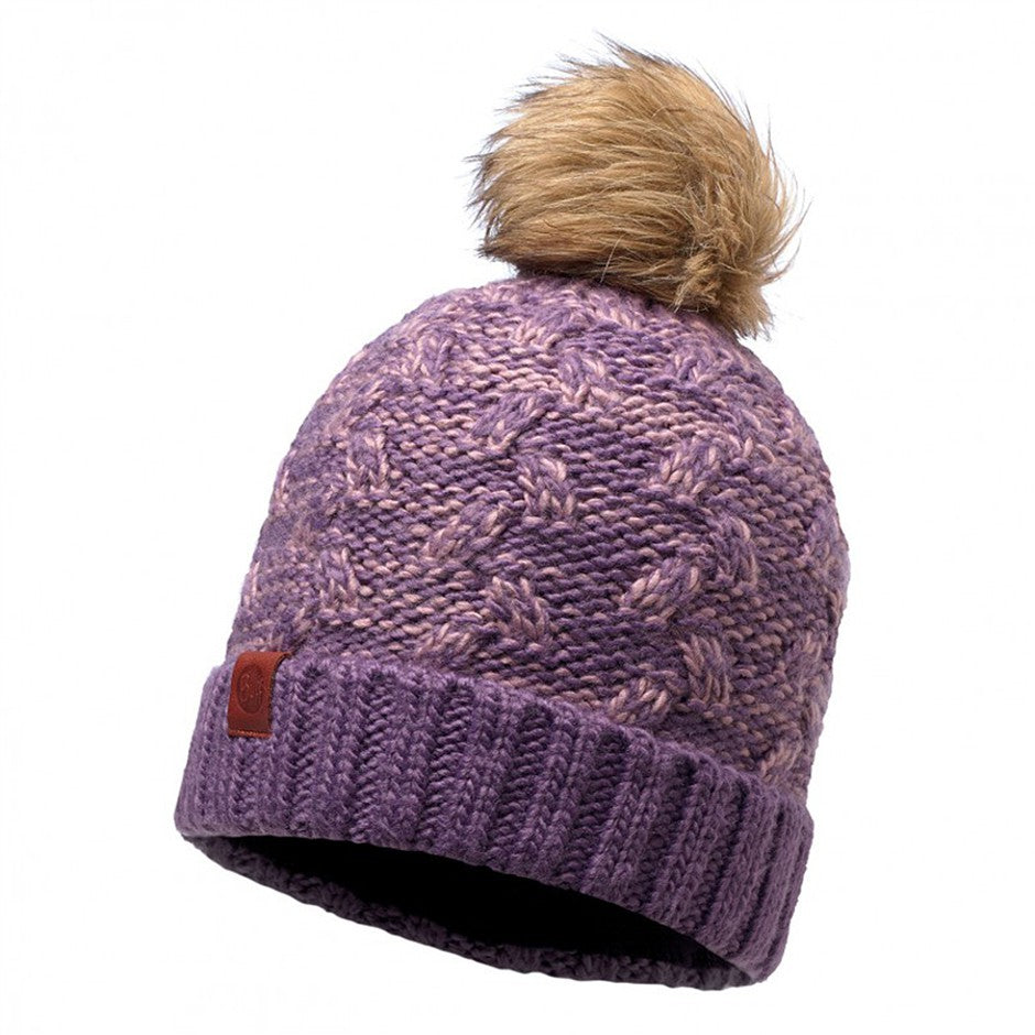 Kiam Knitted Hat for Adults in Deep Grape