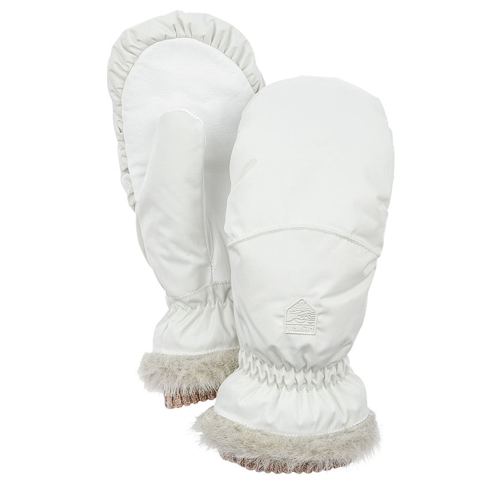 Primaloft Winter Forest Mitt for Women in White