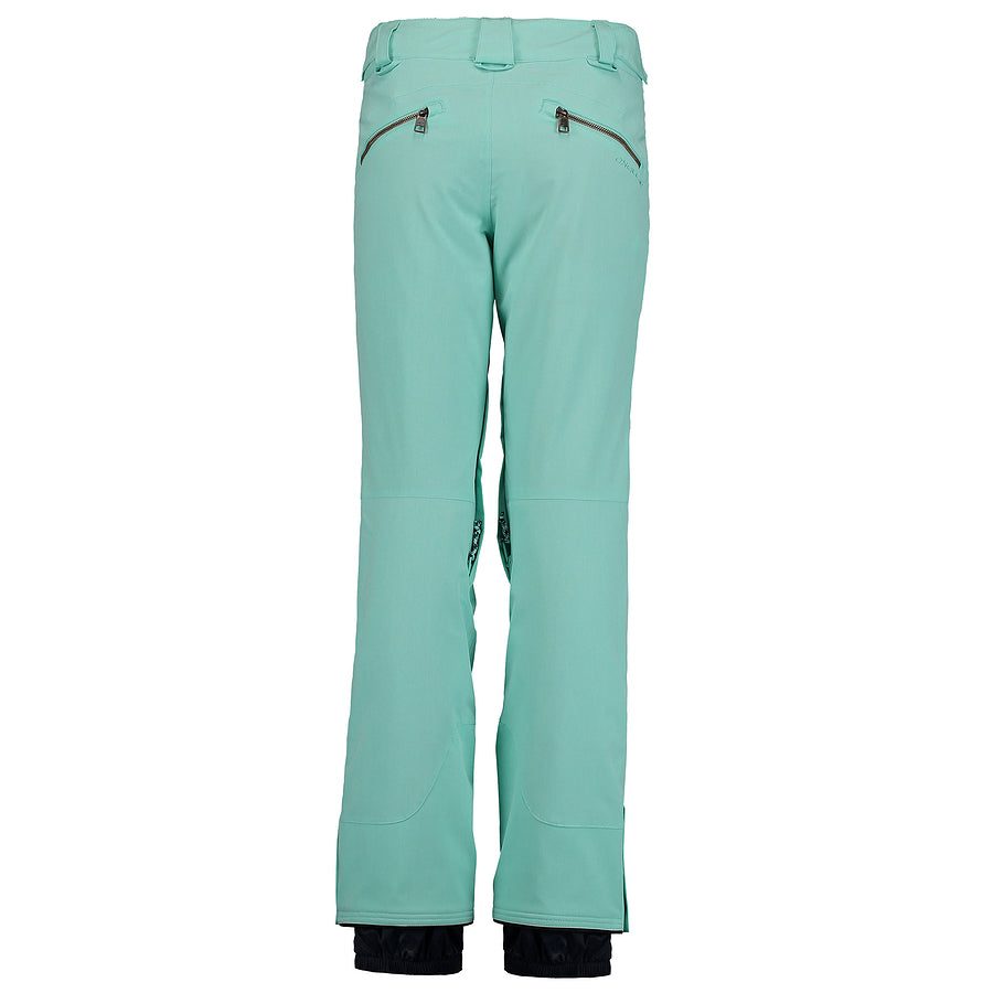 PW Streamlined Ski Pants for Women in Ocean Wave