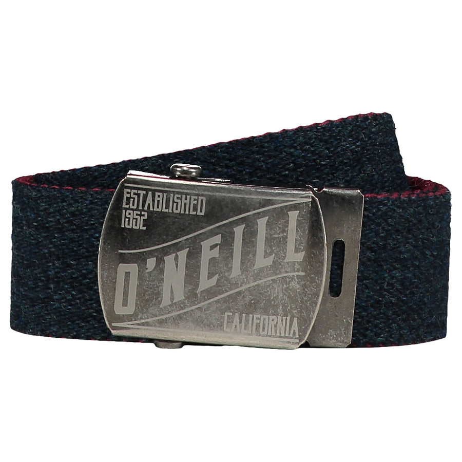 BM O'Neill Reversible Belt for Unisex in Ink Blue