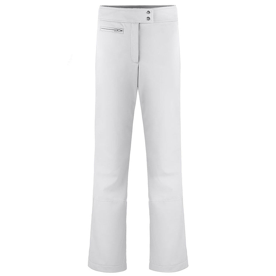 Softshell Ski Pants for Women in White