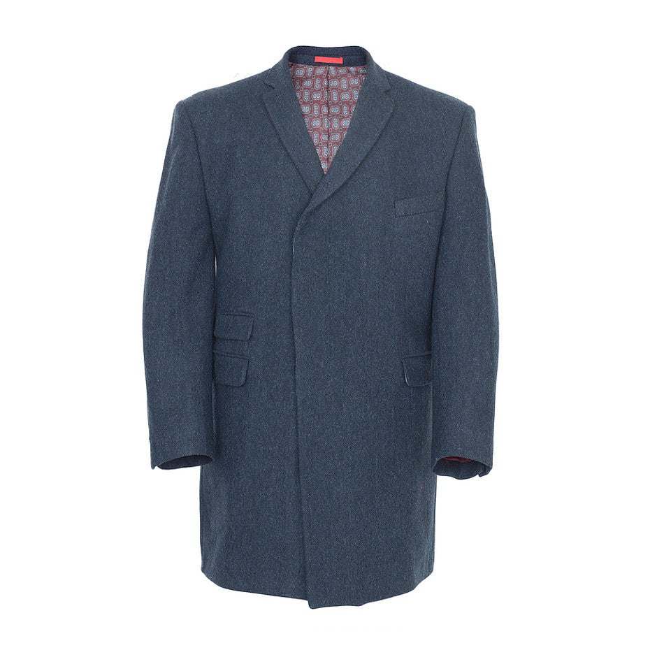 Overcoat for Men in Navy
