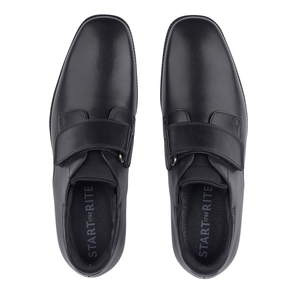 Logic School Shoes for Boys in Black