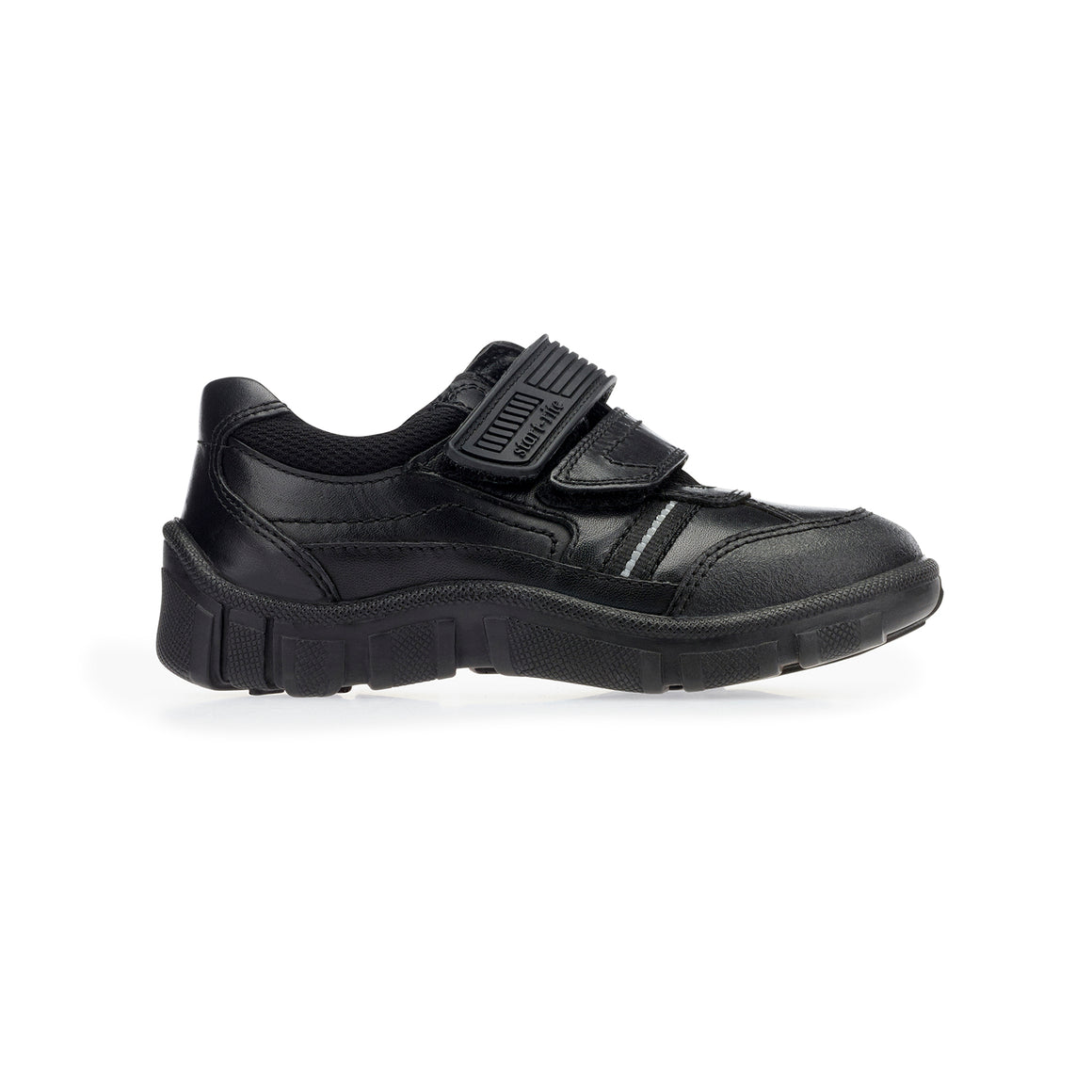 Luke School Shoes for Boys in Black