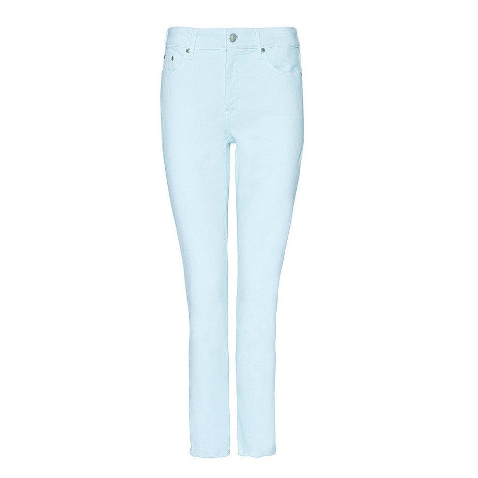 Sheri Slim Ankle Length Jeans for Women in Pale Cabana