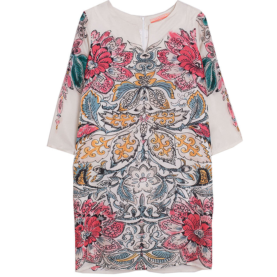 Tamara Paisley Print Dress for Women in Multi